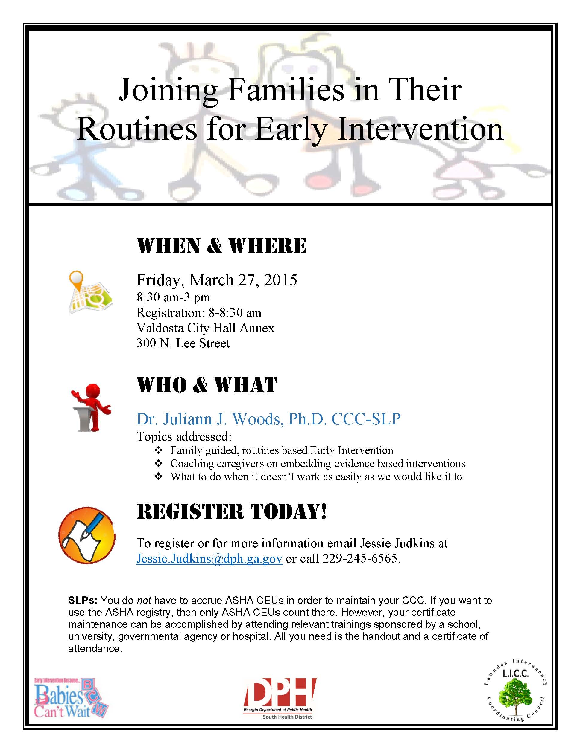 family guided routines based intervention