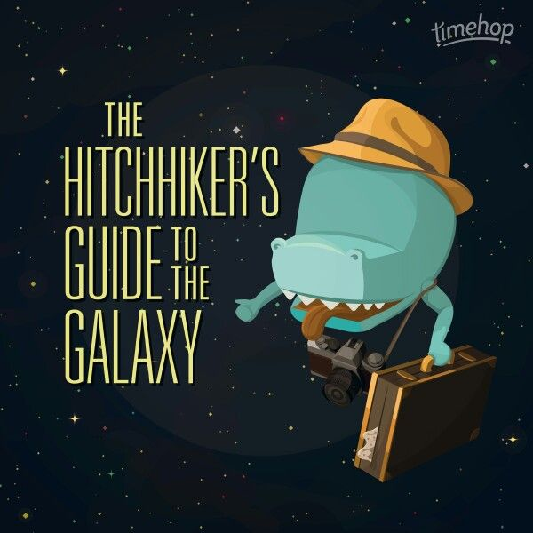 42 birthday card hitchhiker guide