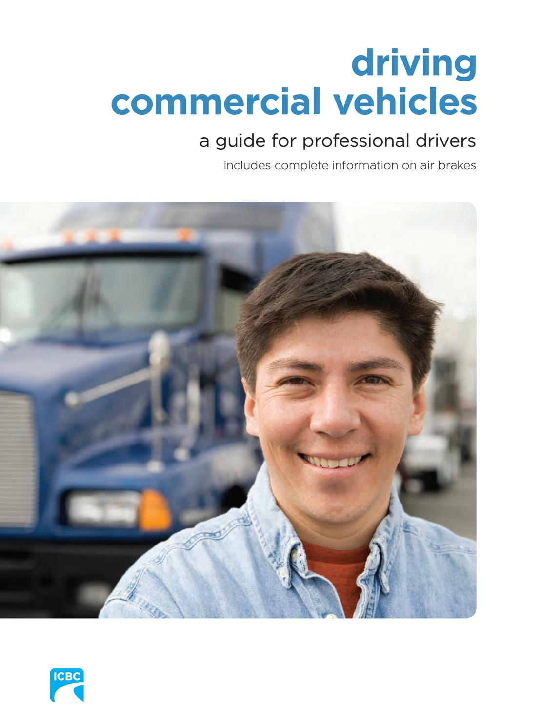 driving commercial vehicles a guide for professional drivers