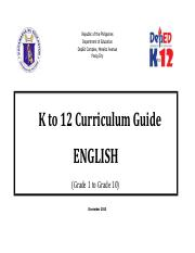 k to 12 curriculum guide english
