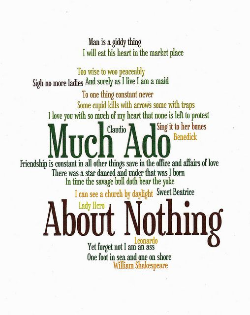 much ado about nothing study guide