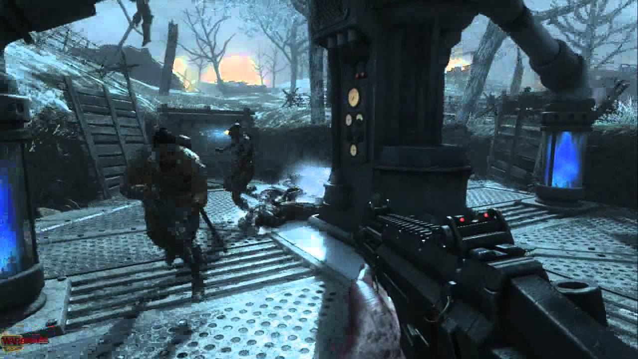 cod ww2 zombies map guide