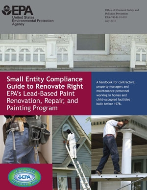 the lead safe certified guide to renovate right
