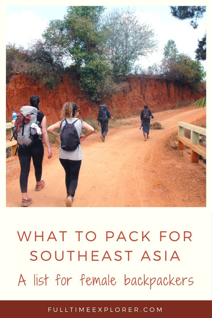 backpackers guide to southeast asia
