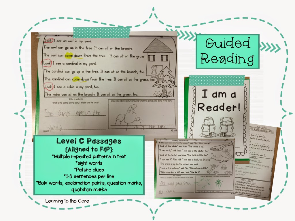 the littles guided reading level