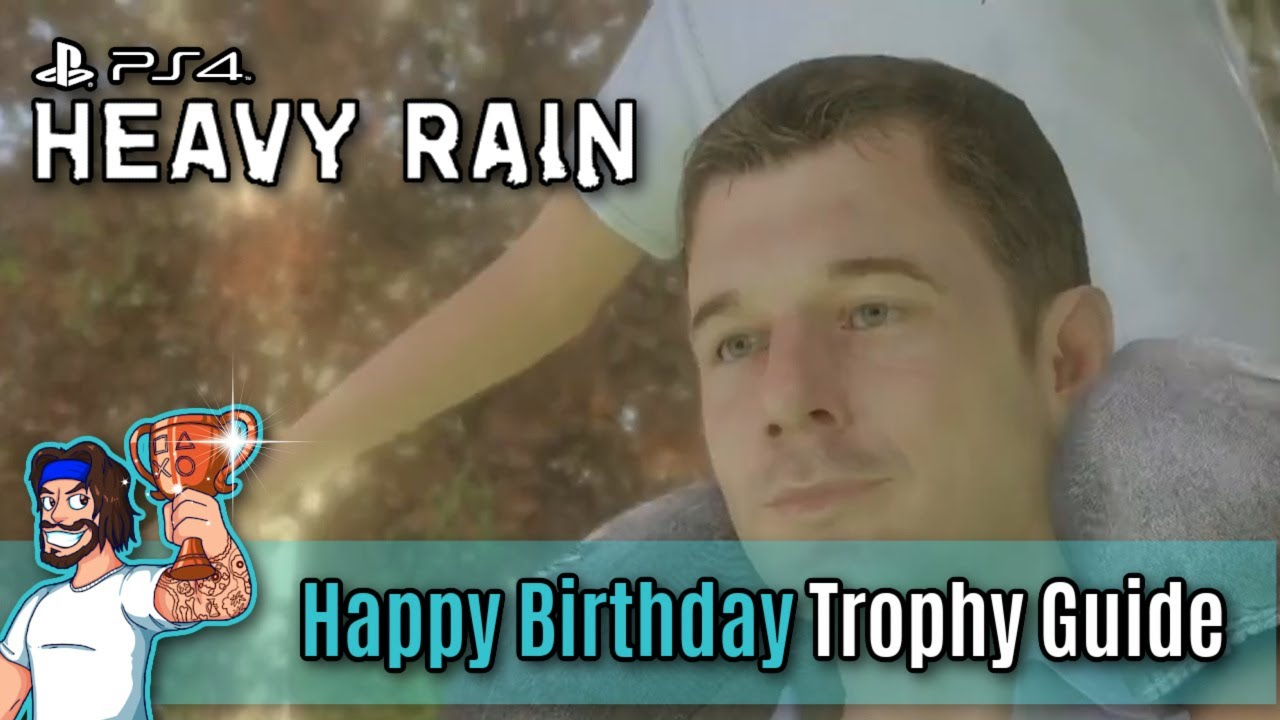 heavy rain trophy guide and roadmap