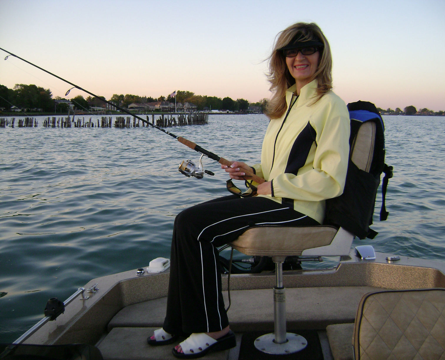 lake st clair ice fishing guides